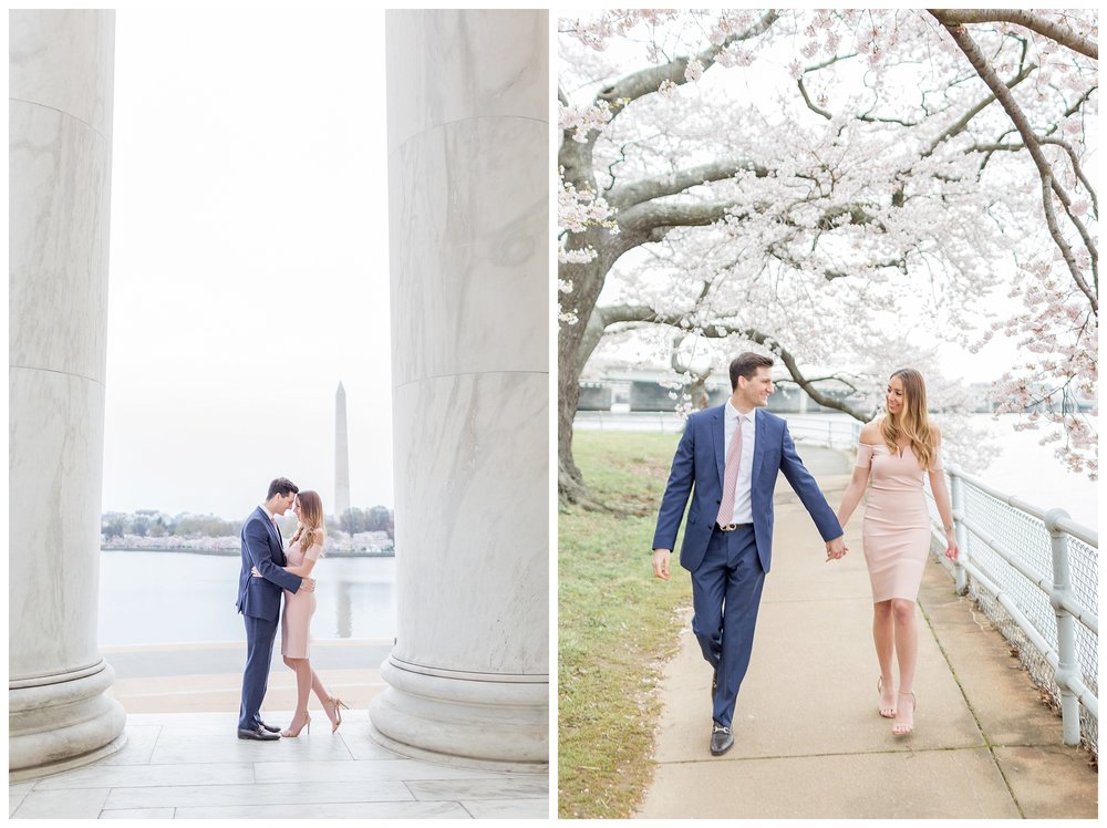 DC Cherry Blossom Engagement Virginia Wedding Photographer_0025.jpg