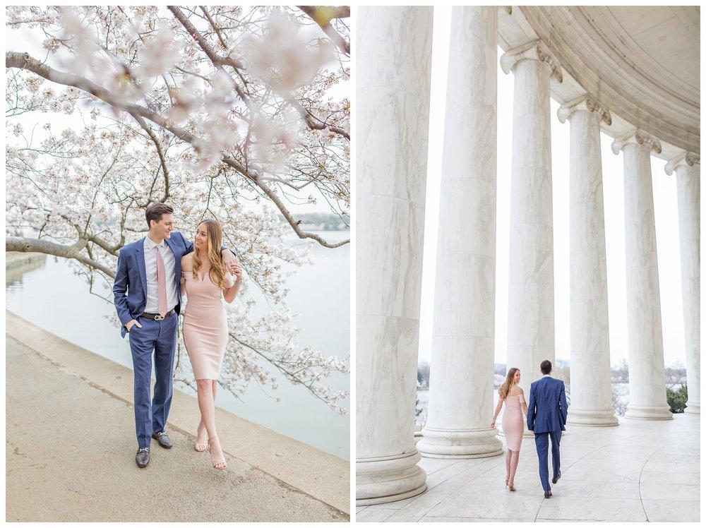 DC Cherry Blossom Engagement Virginia Wedding Photographer_0030.jpg
