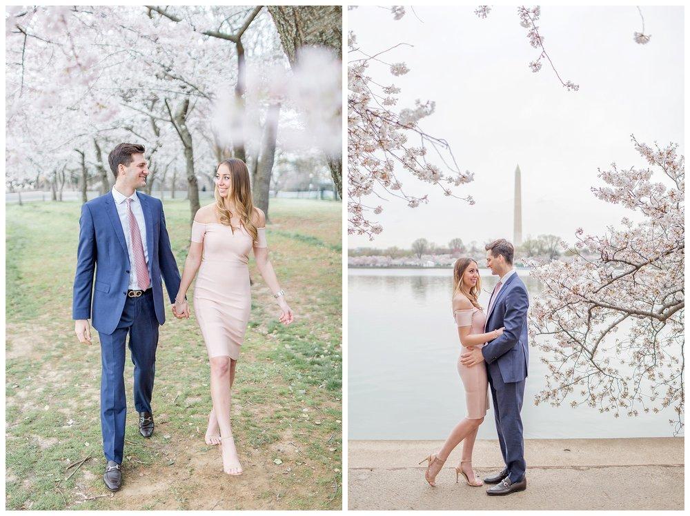 DC Cherry Blossom Engagement Virginia Wedding Photographer_0033.jpg
