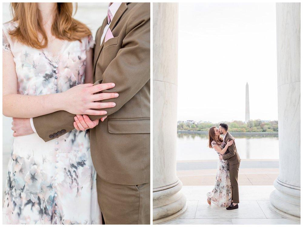 Washington DC Engagement Session Jefferson Cherry Blossom Engagement_0003.jpg