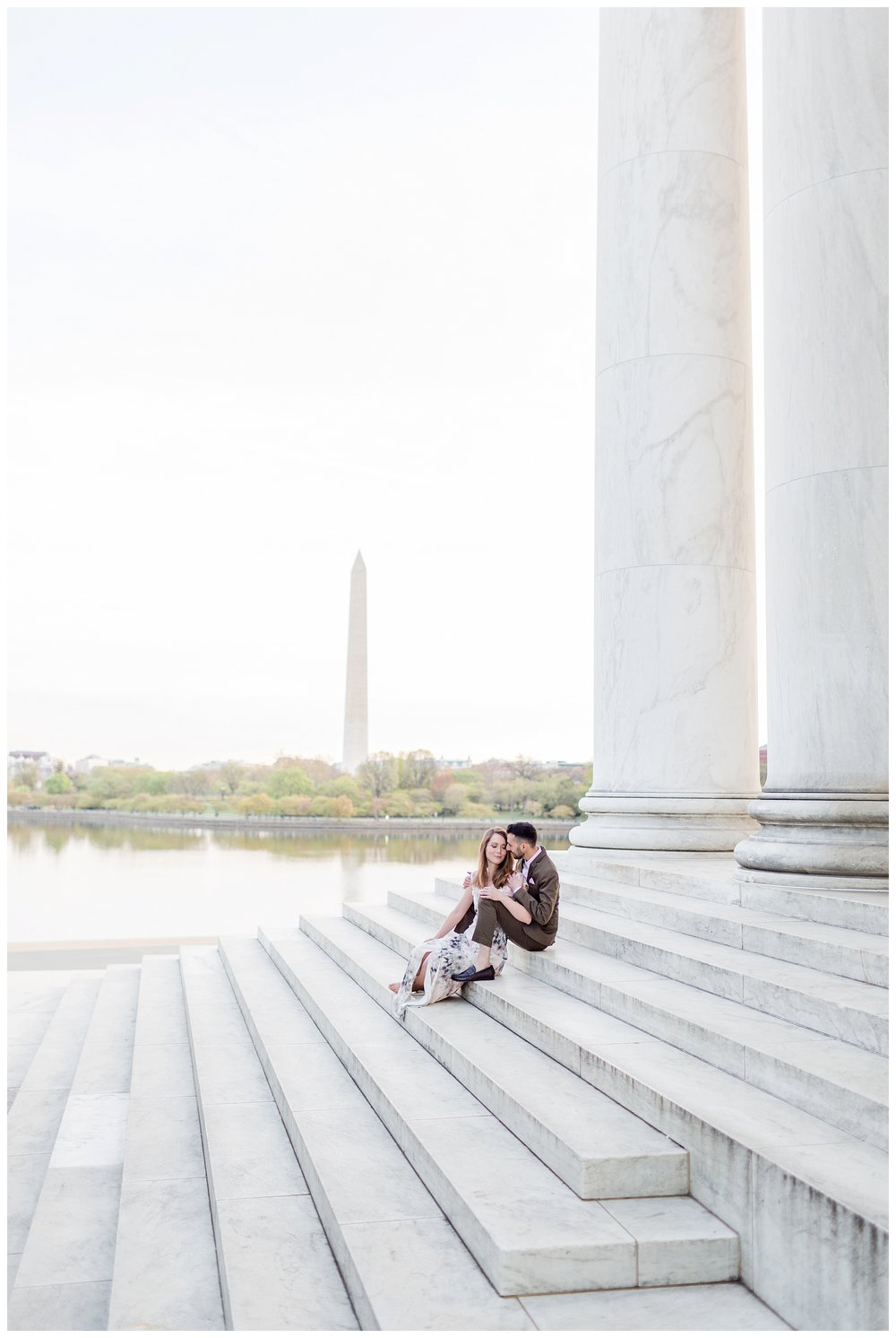 Washington DC Engagement Session Jefferson Cherry Blossom Engagement_0007.jpg