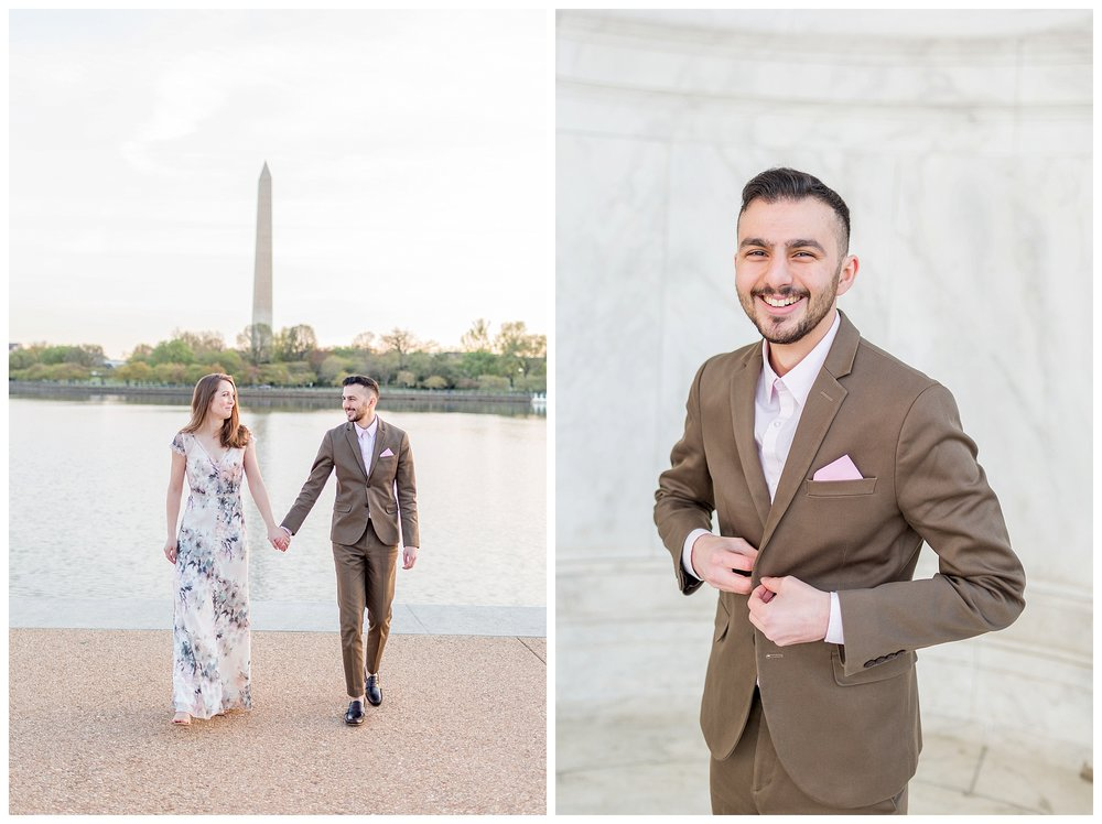 Washington DC Engagement Session Jefferson Cherry Blossom Engagement_0012.jpg