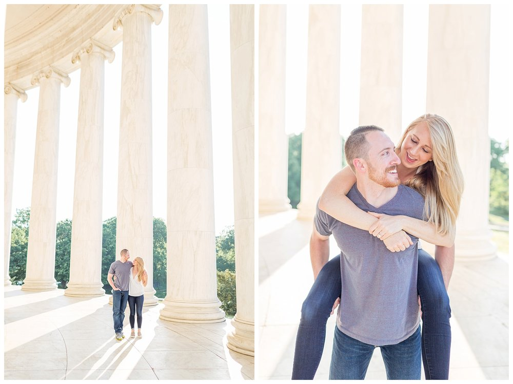 Thomas Jefferson Memorial Engagement DC Wedding Photographer_0005.jpg