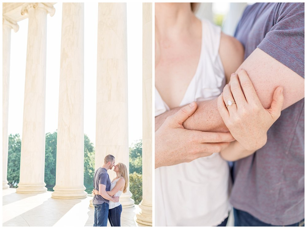 Thomas Jefferson Memorial Engagement DC Wedding Photographer_0006.jpg
