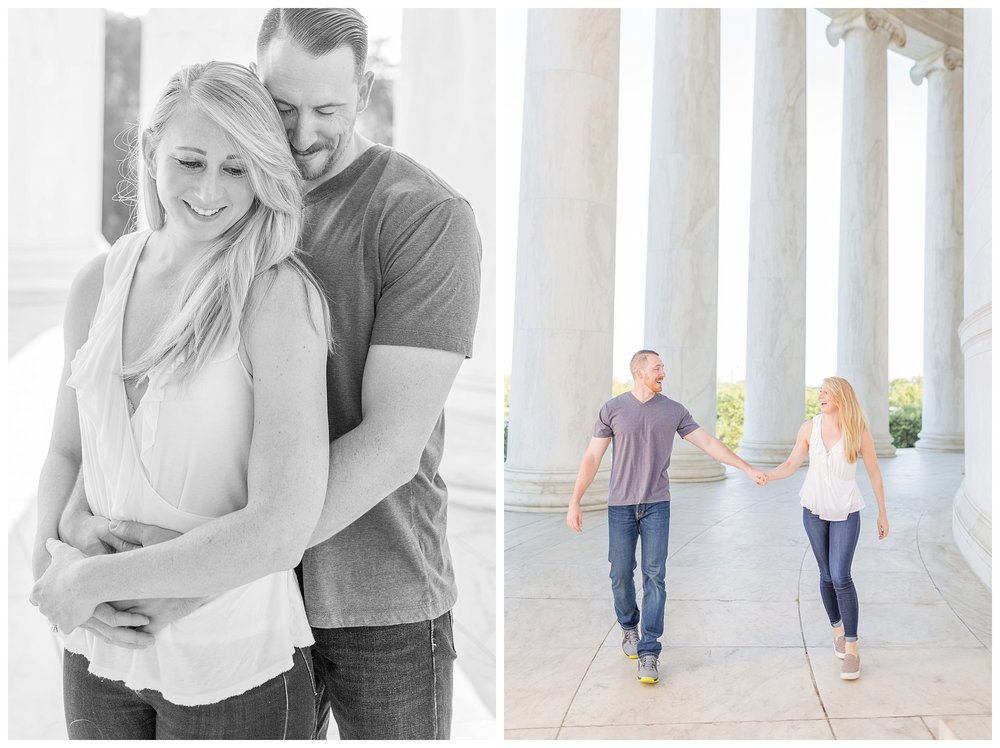 Thomas Jefferson Memorial Engagement DC Wedding Photographer_0008.jpg