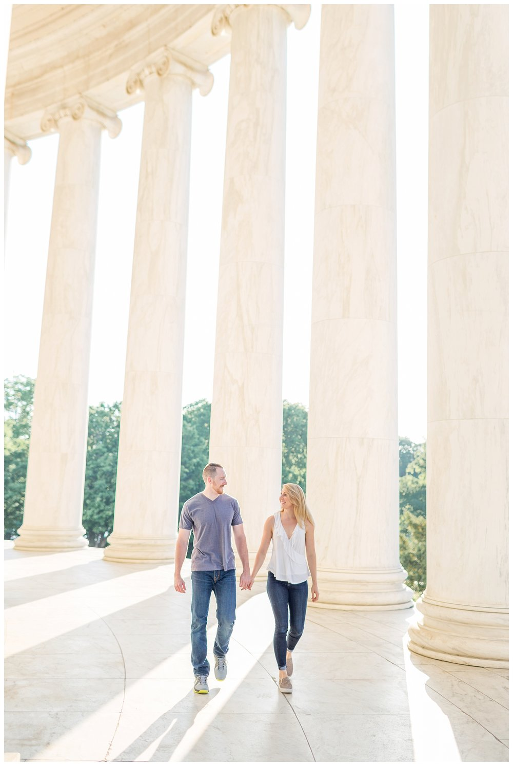 Thomas Jefferson Memorial Engagement DC Wedding Photographer_0009.jpg