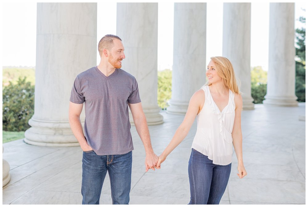 Thomas Jefferson Memorial Engagement DC Wedding Photographer_0011.jpg