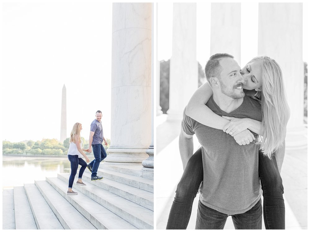 Thomas Jefferson Memorial Engagement DC Wedding Photographer_0012.jpg