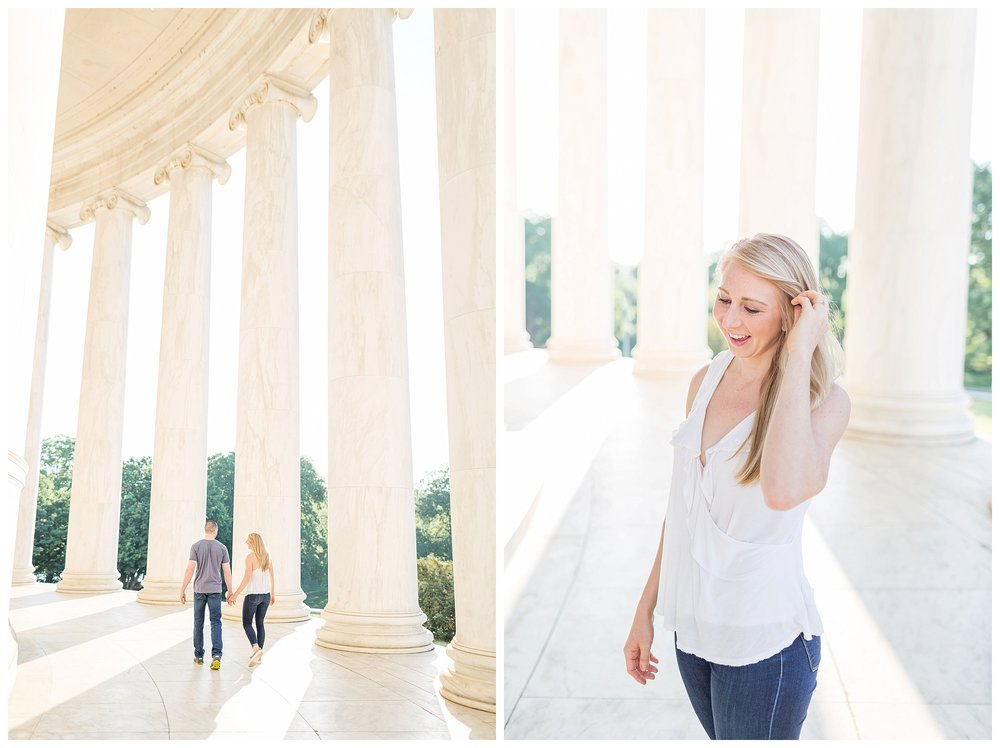 Thomas Jefferson Memorial Engagement DC Wedding Photographer_0013.jpg