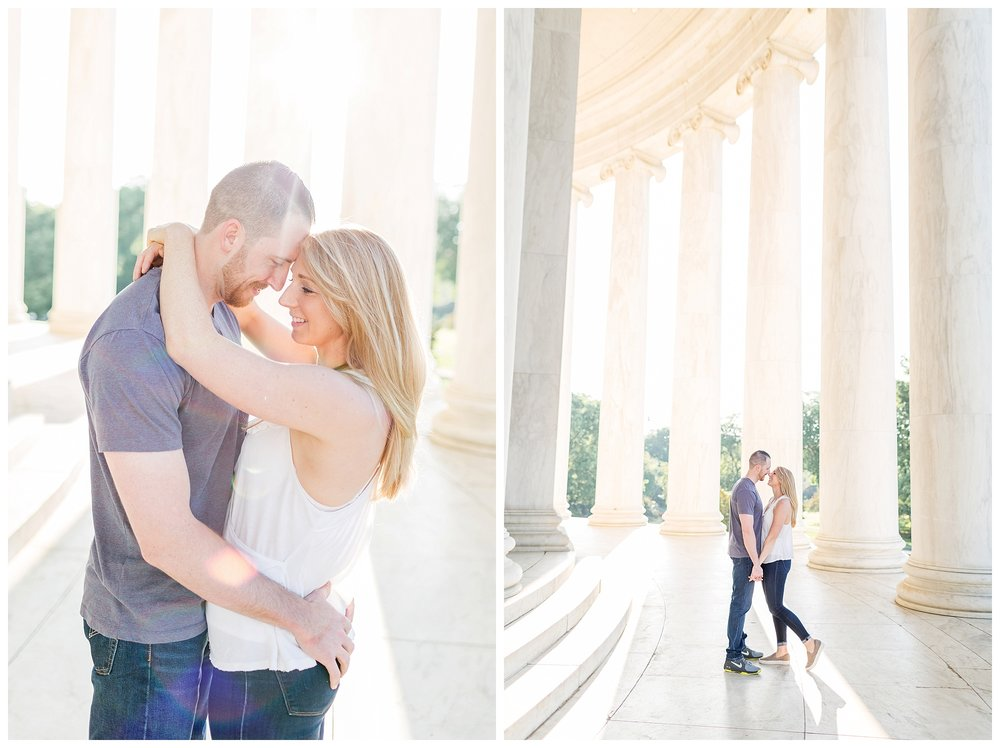 Thomas Jefferson Memorial Engagement DC Wedding Photographer_0020.jpg