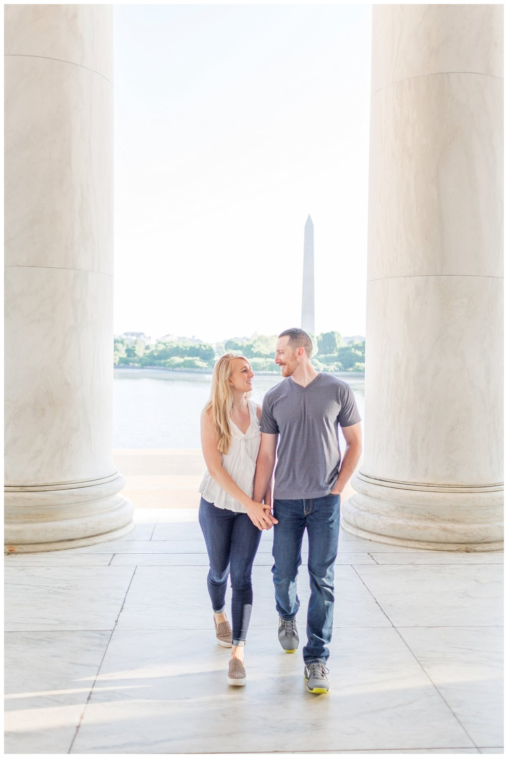 Thomas Jefferson Memorial Engagement DC Wedding Photographer_0021.jpg