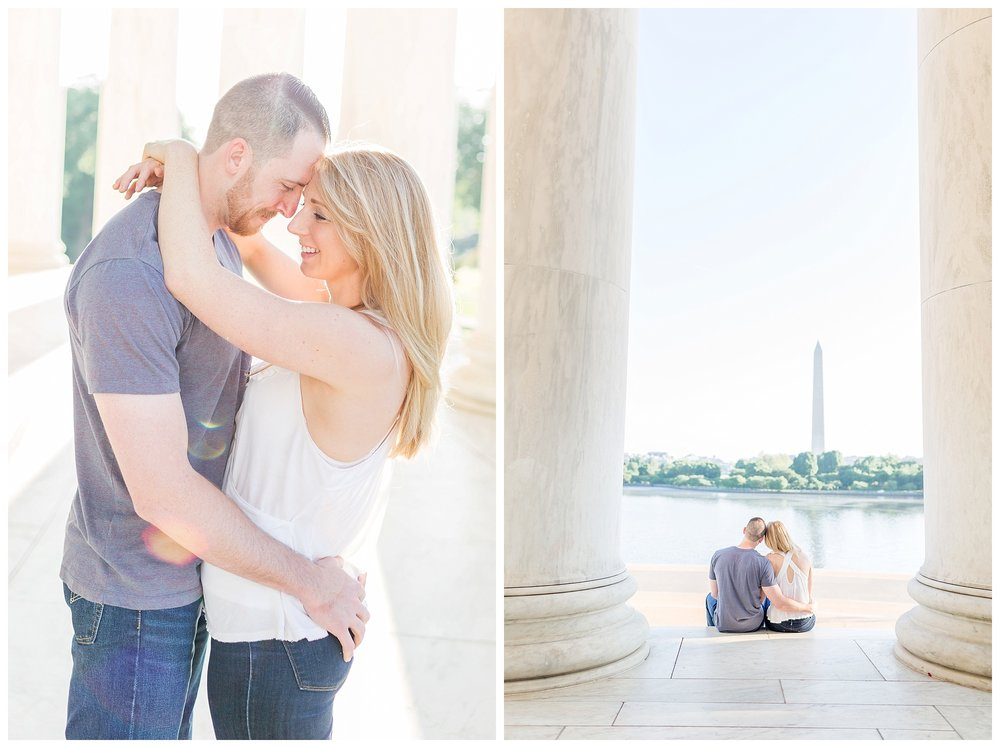 Thomas Jefferson Memorial Engagement DC Wedding Photographer_0022.jpg