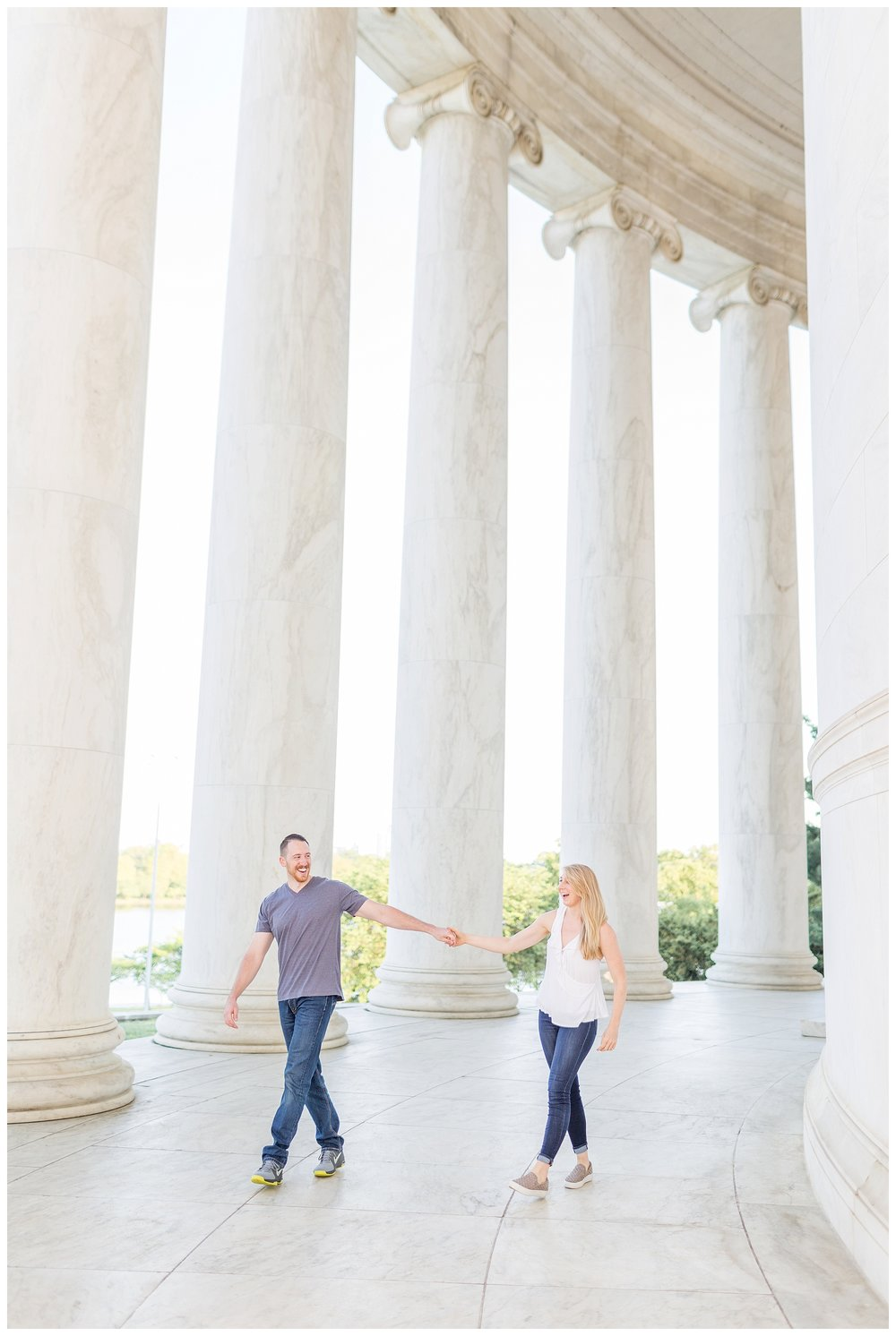 Thomas Jefferson Memorial Engagement DC Wedding Photographer_0023.jpg