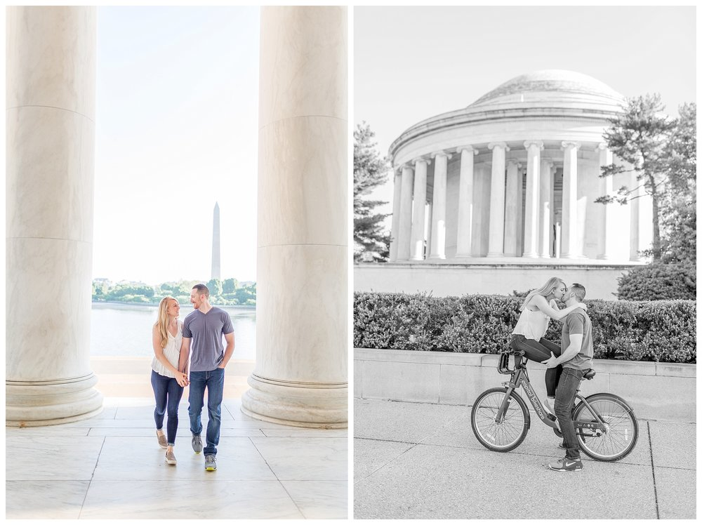 Thomas Jefferson Memorial Engagement DC Wedding Photographer_0024.jpg