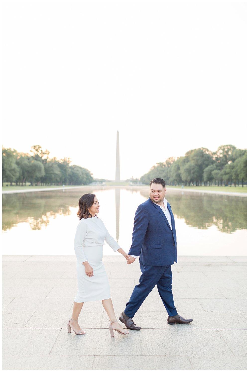 Federal Triangle Engagement DC Wedding Photographer Kir Tuben_0011.jpg