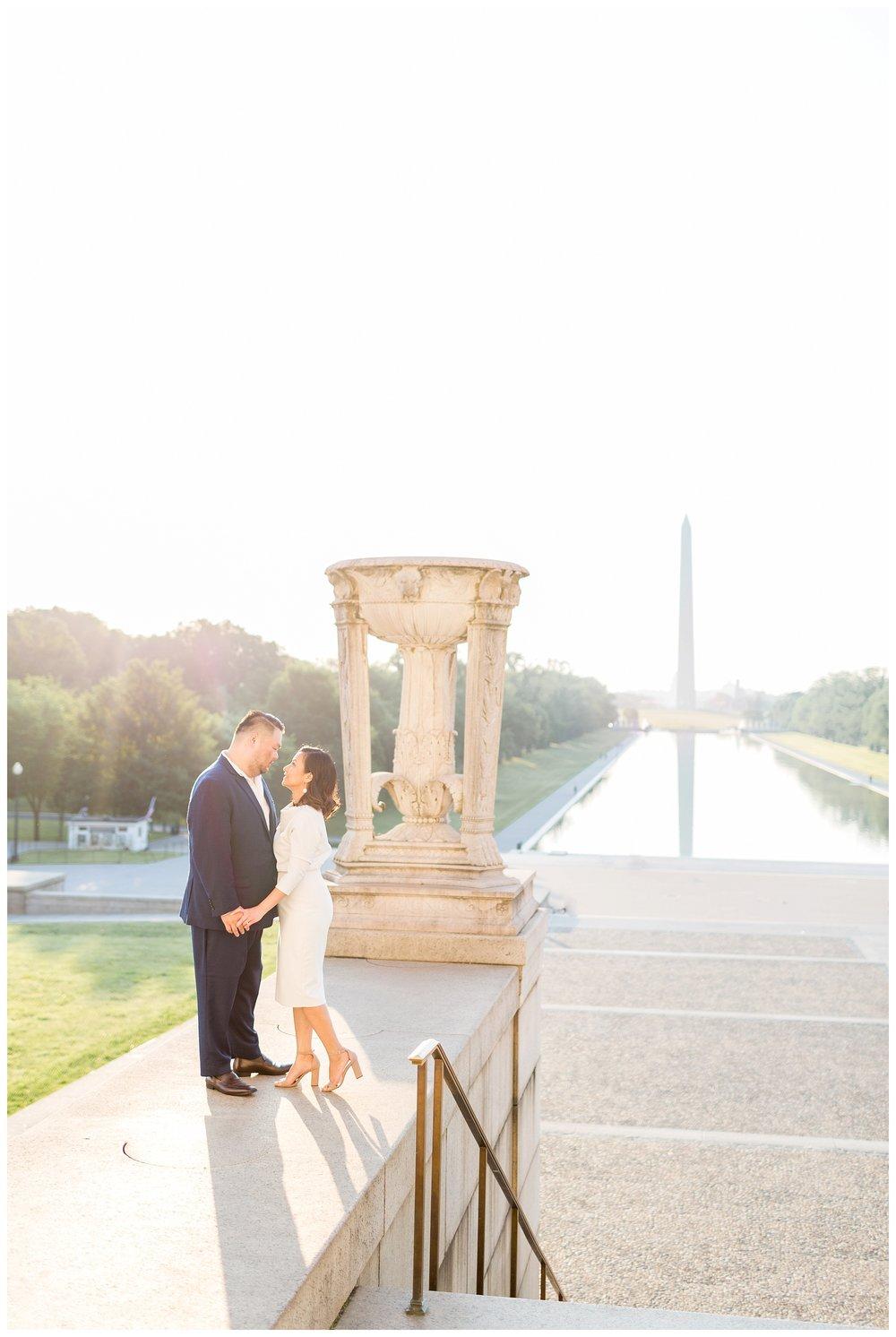 Federal Triangle Engagement DC Wedding Photographer Kir Tuben_0014.jpg