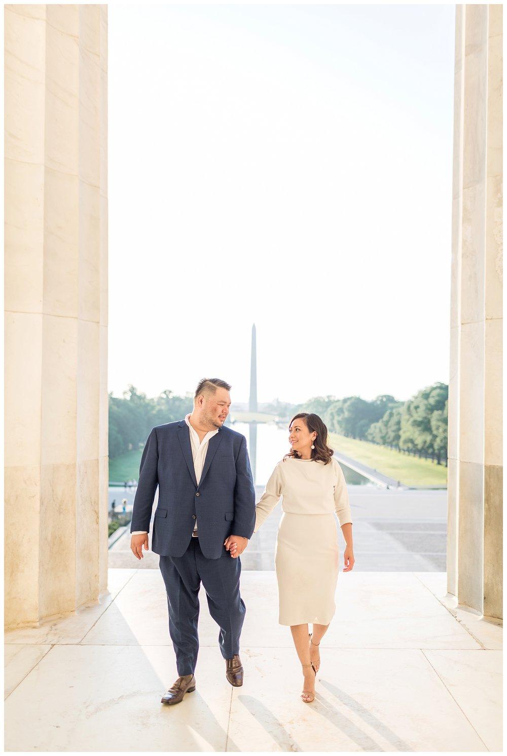 Federal Triangle Engagement DC Wedding Photographer Kir Tuben_0017.jpg