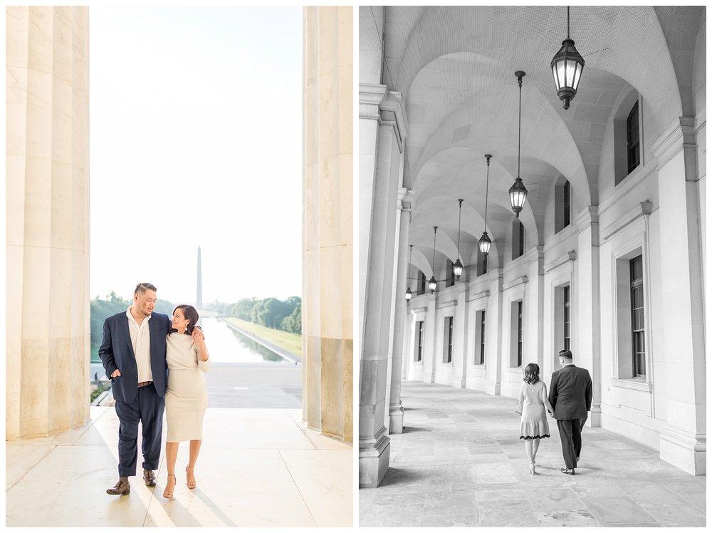 Federal Triangle Engagement DC Wedding Photographer Kir Tuben_0022.jpg