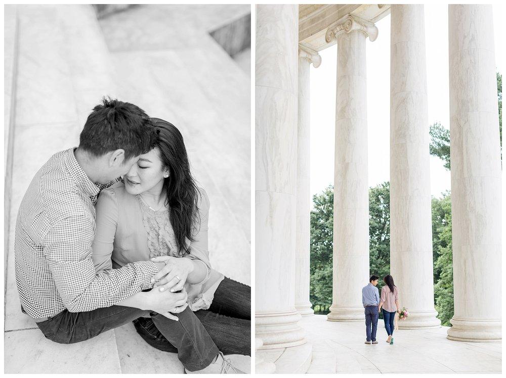 Thomas Jefferson Memorial Engagement DC Wedding Photographer Kir Tuben_0011.jpg