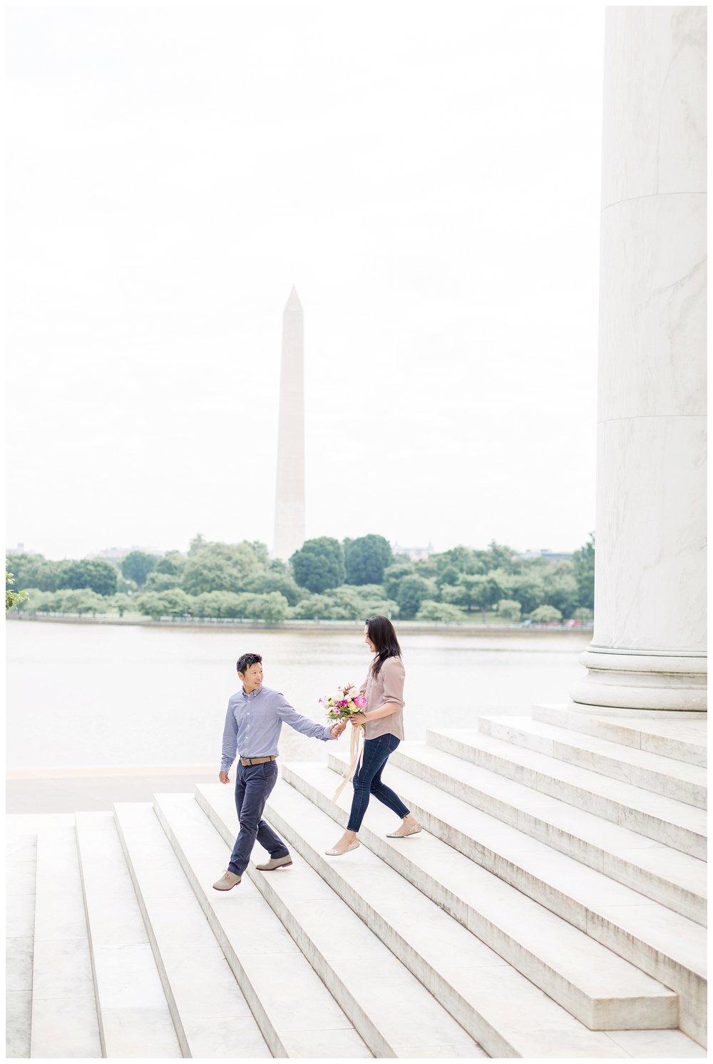 Thomas Jefferson Memorial Engagement DC Wedding Photographer Kir Tuben_0015.jpg