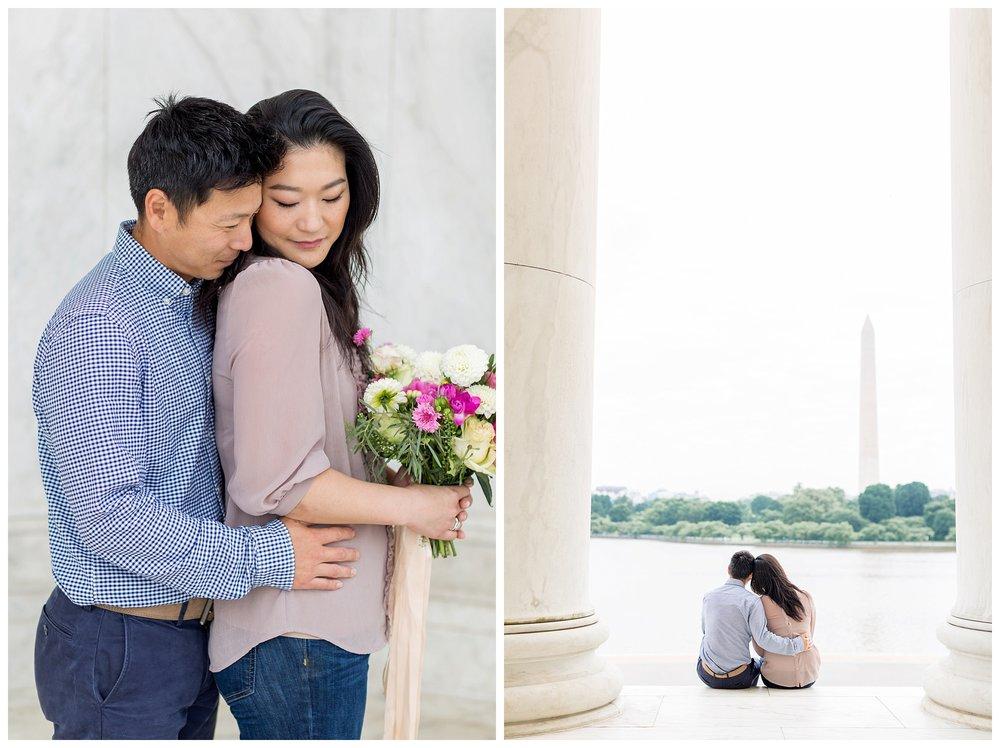 Thomas Jefferson Memorial Engagement DC Wedding Photographer Kir Tuben_0017.jpg