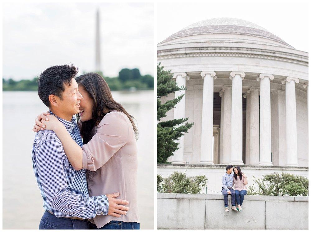 Thomas Jefferson Memorial Engagement DC Wedding Photographer Kir Tuben_0019.jpg