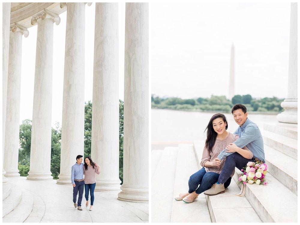 Thomas Jefferson Memorial Engagement DC Wedding Photographer Kir Tuben_0021.jpg