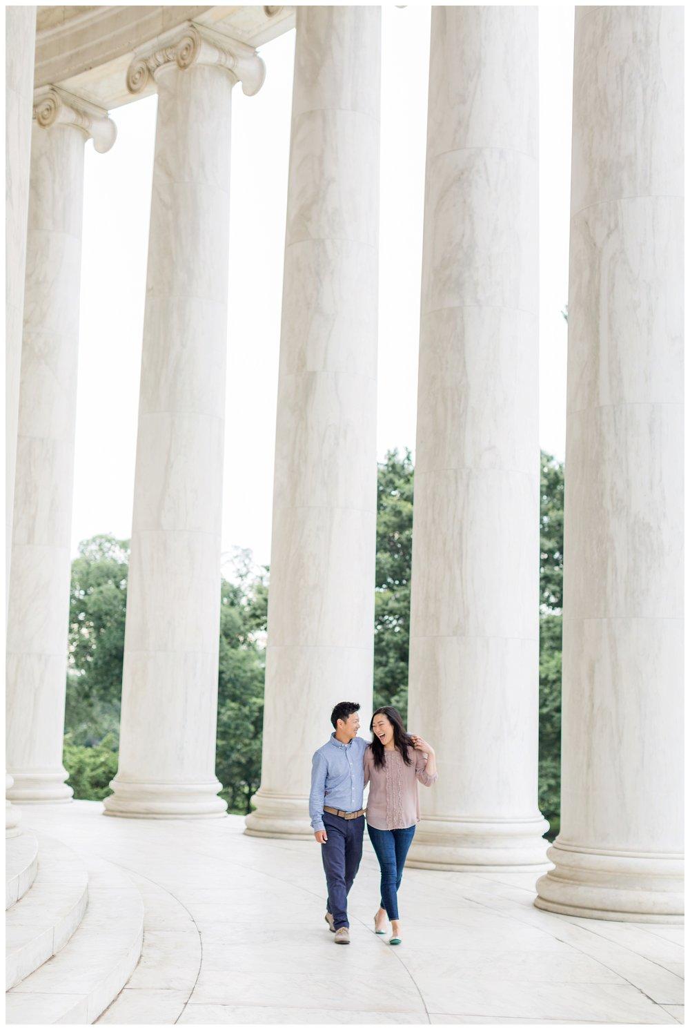 Thomas Jefferson Memorial Engagement DC Wedding Photographer Kir Tuben_0025.jpg