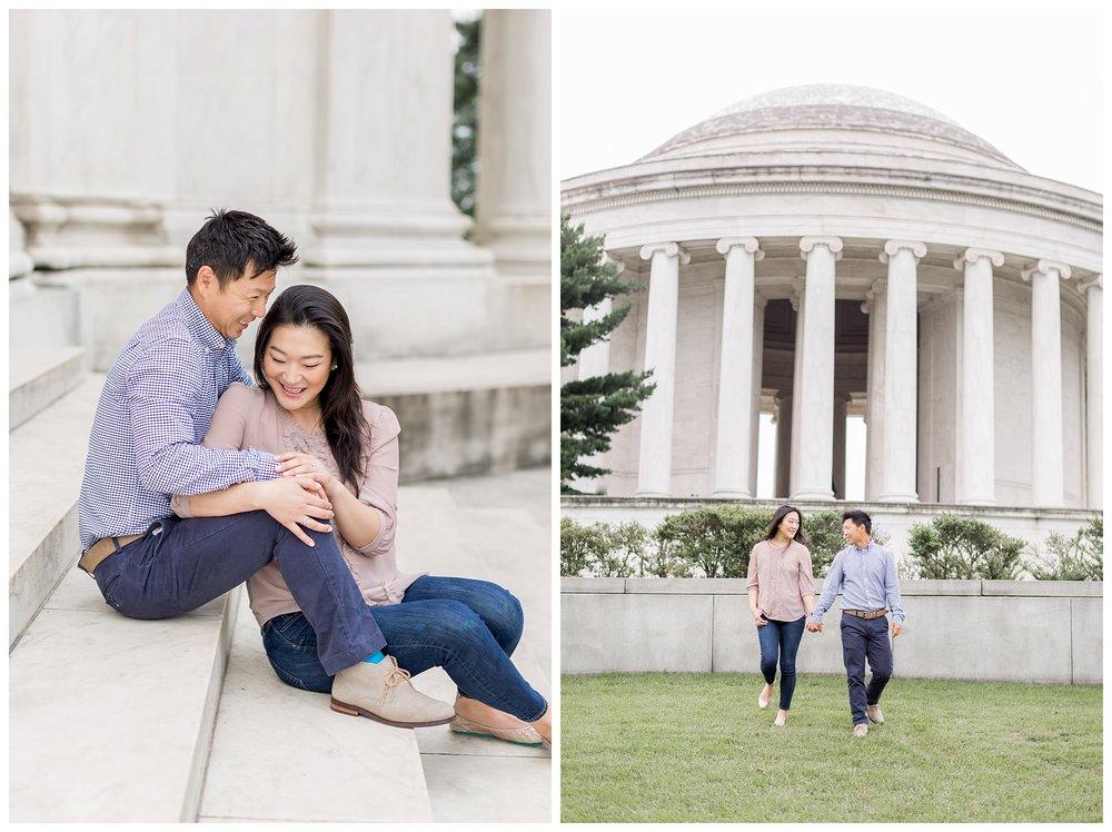 Thomas Jefferson Memorial Engagement DC Wedding Photographer Kir Tuben_0029.jpg