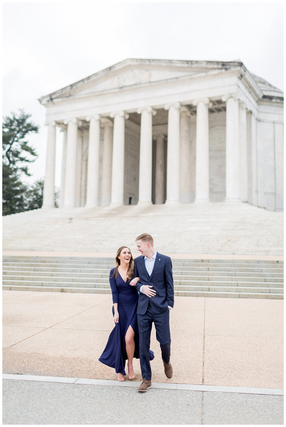 Washingon DC Engagement Photos | Jefferson Memorial Engagement | Kir Tuben_0000.jpg