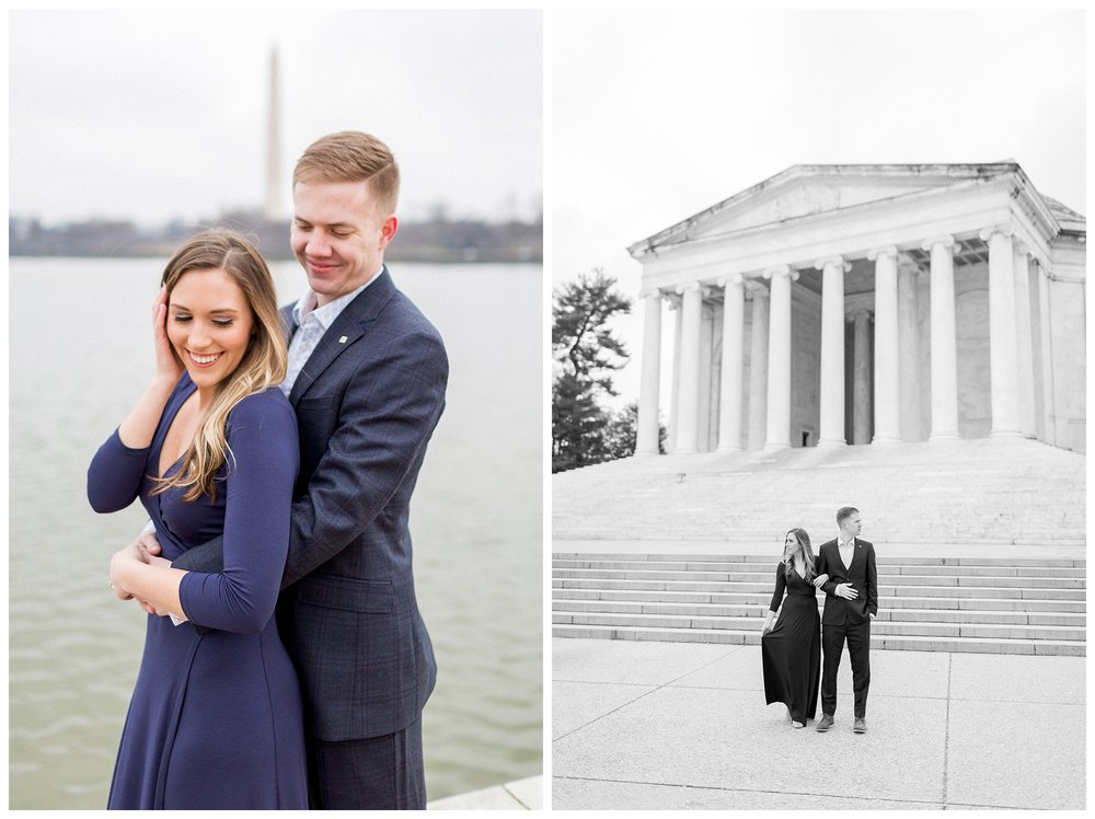 Washingon DC Engagement Photos | Jefferson Memorial Engagement | Kir Tuben_0002.jpg