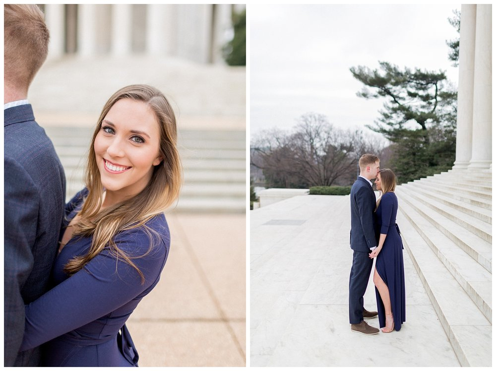 Washingon DC Engagement Photos | Jefferson Memorial Engagement | Kir Tuben_0004.jpg