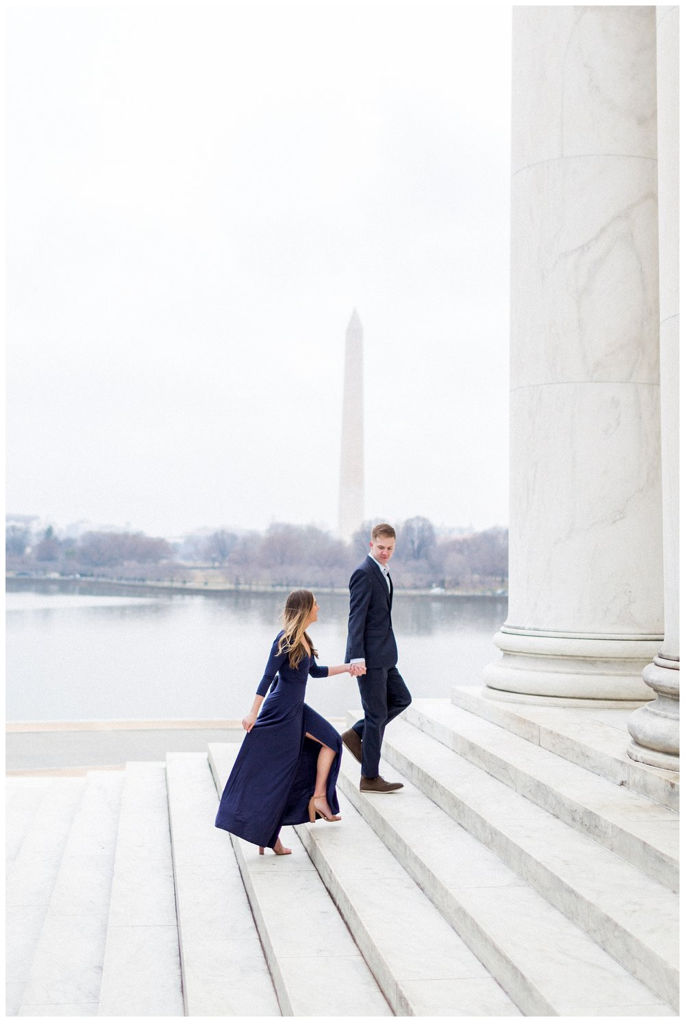 Washingon DC Engagement Photos | Jefferson Memorial Engagement | Kir Tuben_0005.jpg