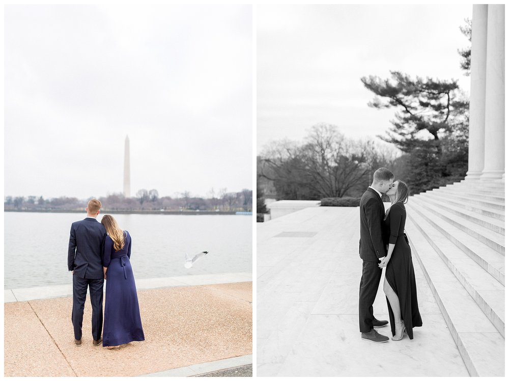 Washingon DC Engagement Photos | Jefferson Memorial Engagement | Kir Tuben_0007.jpg