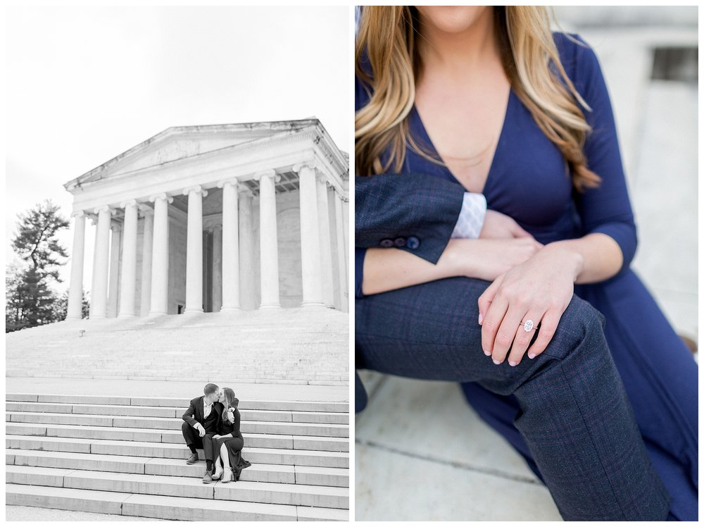 Washingon DC Engagement Photos | Jefferson Memorial Engagement | Kir Tuben_0009.jpg