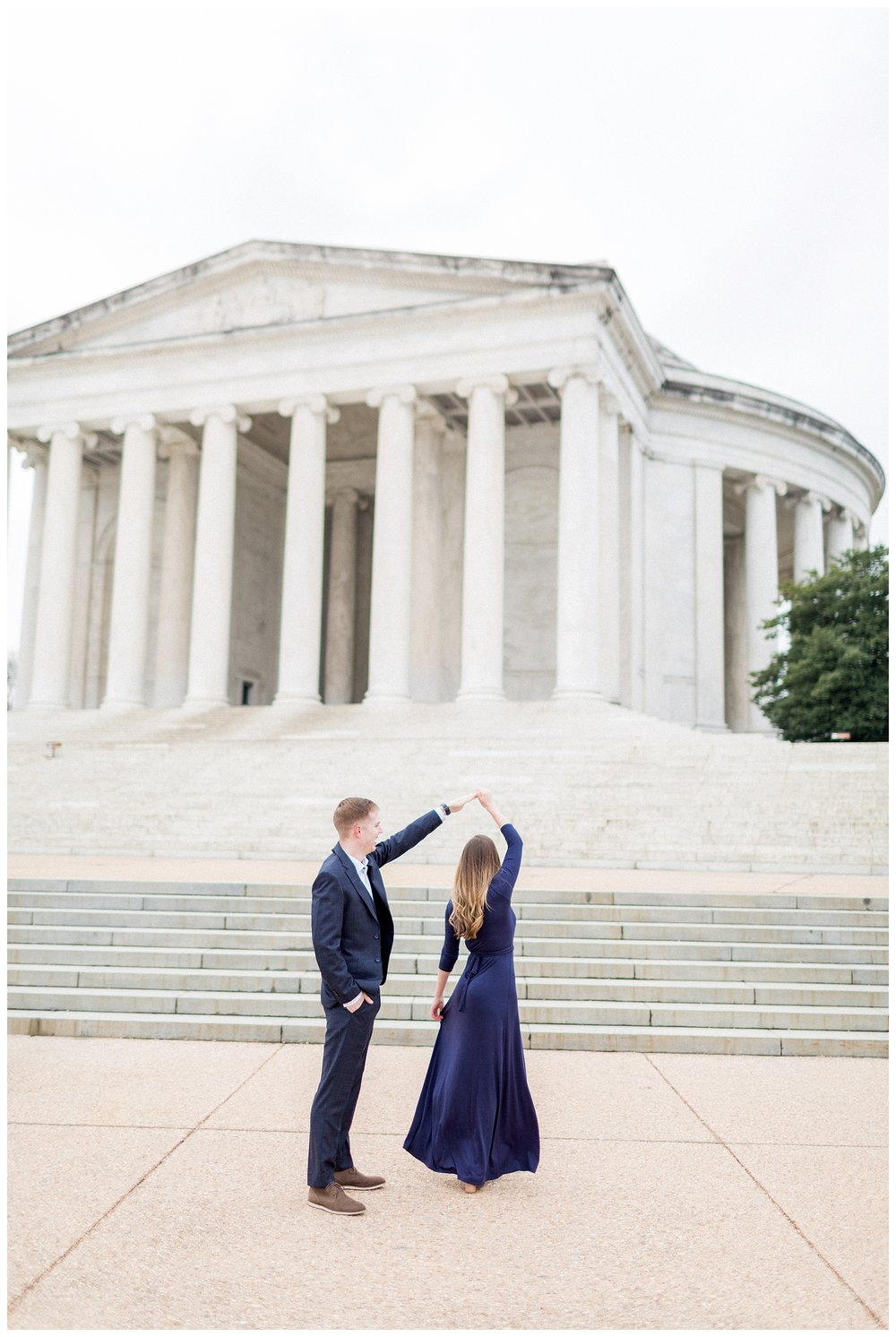 Washingon DC Engagement Photos | Jefferson Memorial Engagement | Kir Tuben_0010.jpg