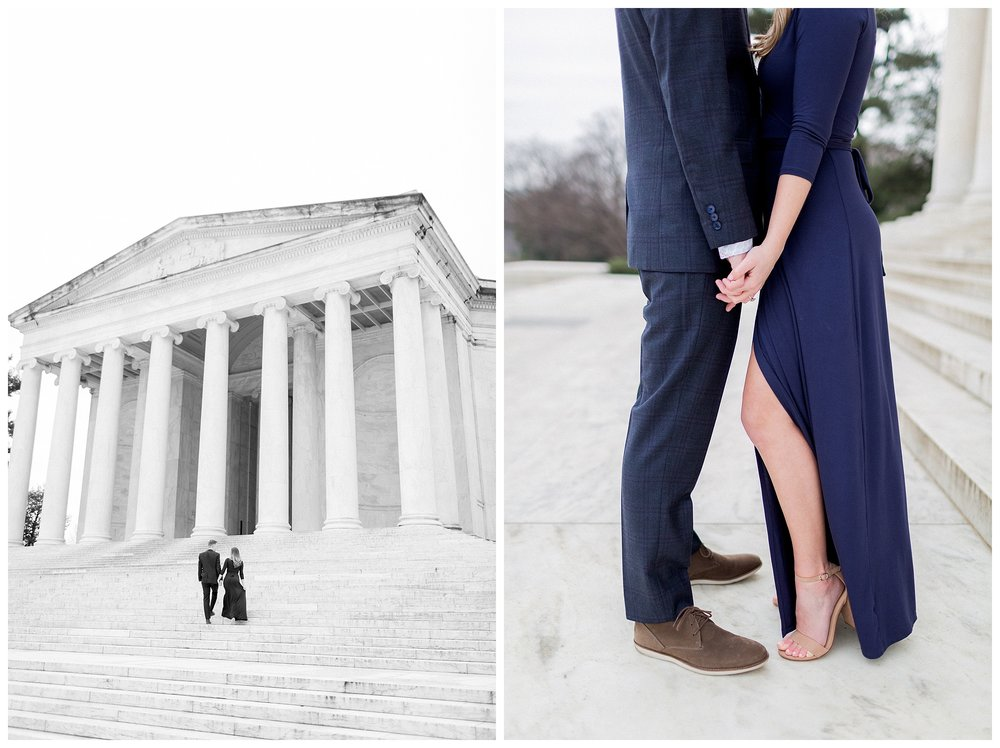 Washingon DC Engagement Photos | Jefferson Memorial Engagement | Kir Tuben_0013.jpg