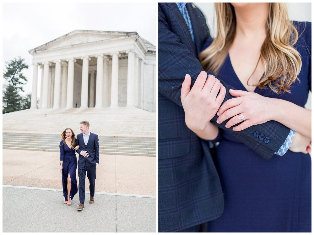 Washingon DC Engagement Photos | Jefferson Memorial Engagement | Kir Tuben_0018.jpg