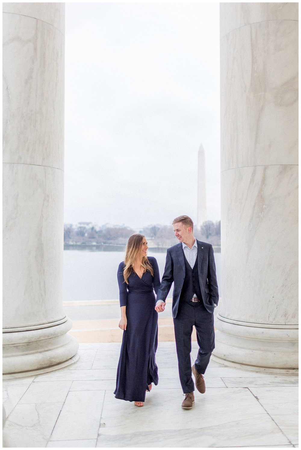 Washingon DC Engagement Photos | Jefferson Memorial Engagement | Kir Tuben_0017.jpg