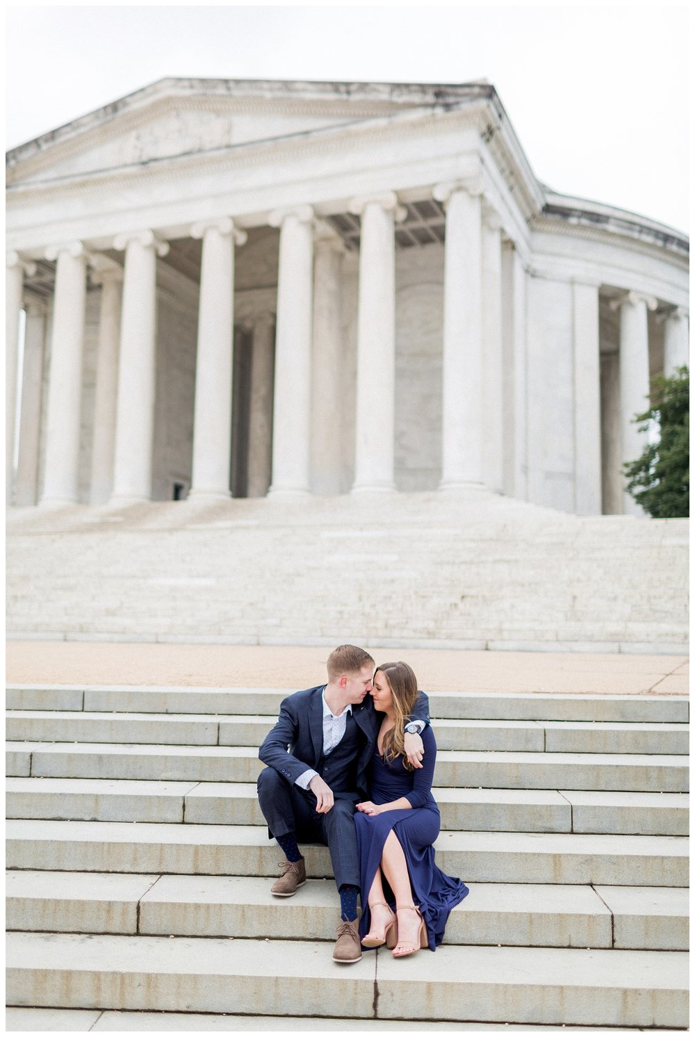 Washingon DC Engagement Photos | Jefferson Memorial Engagement | Kir Tuben_0019.jpg