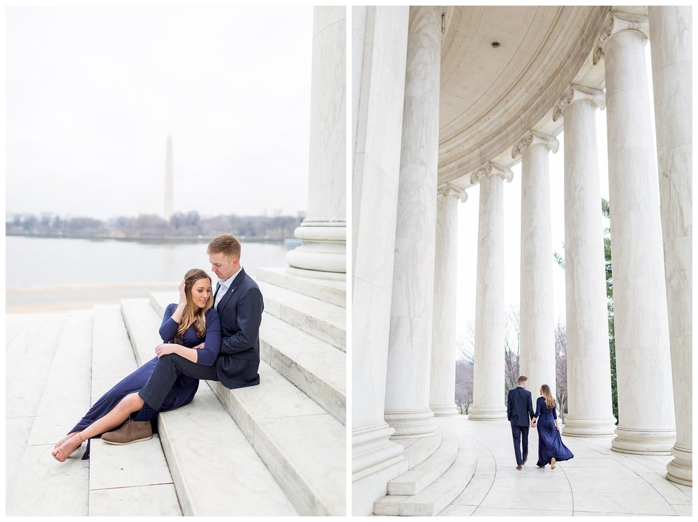 Washingon DC Engagement Photos | Jefferson Memorial Engagement | Kir Tuben_0026.jpg