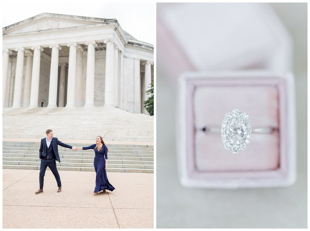 Washingon DC Engagement Photos | Jefferson Memorial Engagement | Kir Tuben_0027.jpg