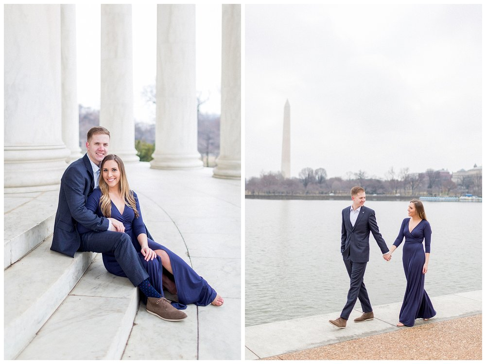 Washingon DC Engagement Photos | Jefferson Memorial Engagement | Kir Tuben_0029.jpg