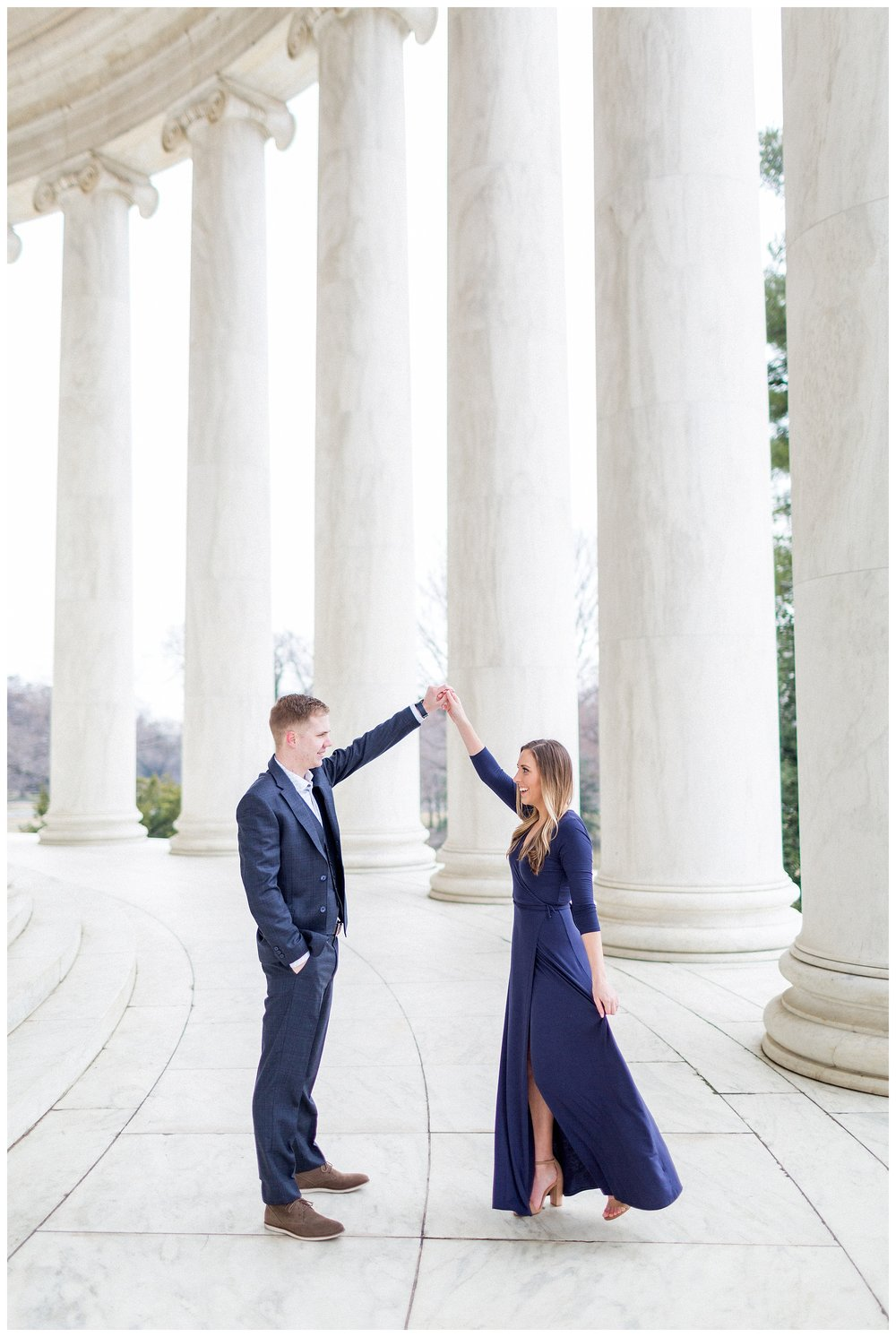 Washingon DC Engagement Photos | Jefferson Memorial Engagement | Kir Tuben_0030.jpg
