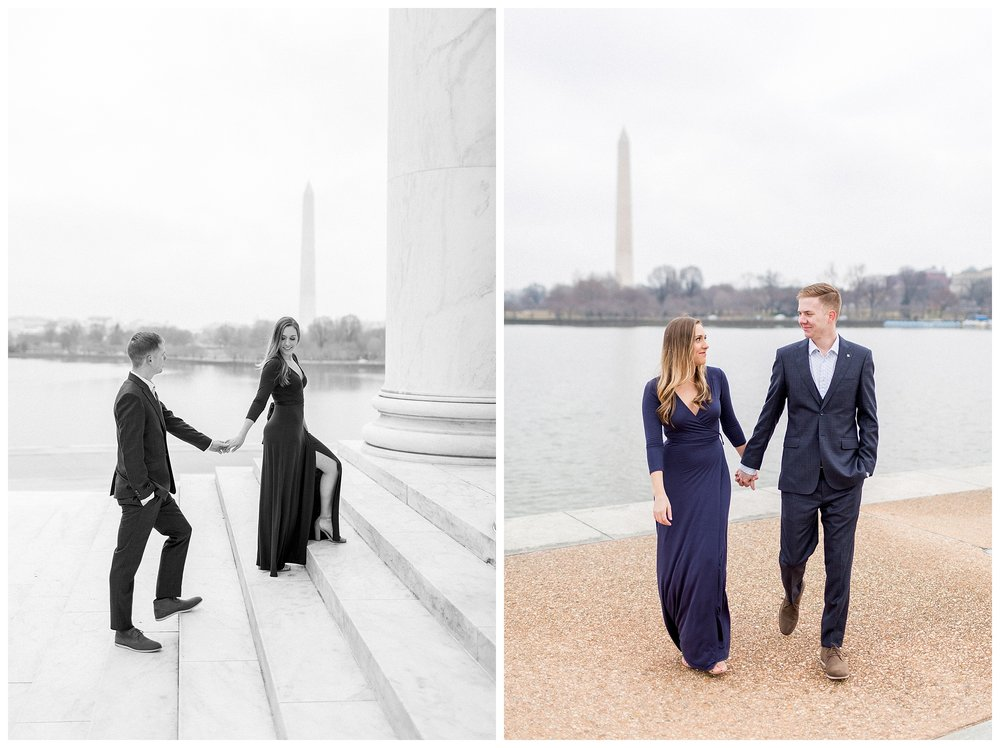 Washingon DC Engagement Photos | Jefferson Memorial Engagement | Kir Tuben_0033.jpg