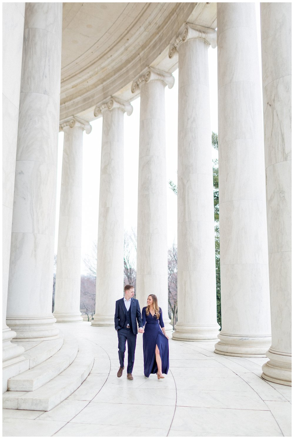 Washingon DC Engagement Photos | Jefferson Memorial Engagement | Kir Tuben_0034.jpg