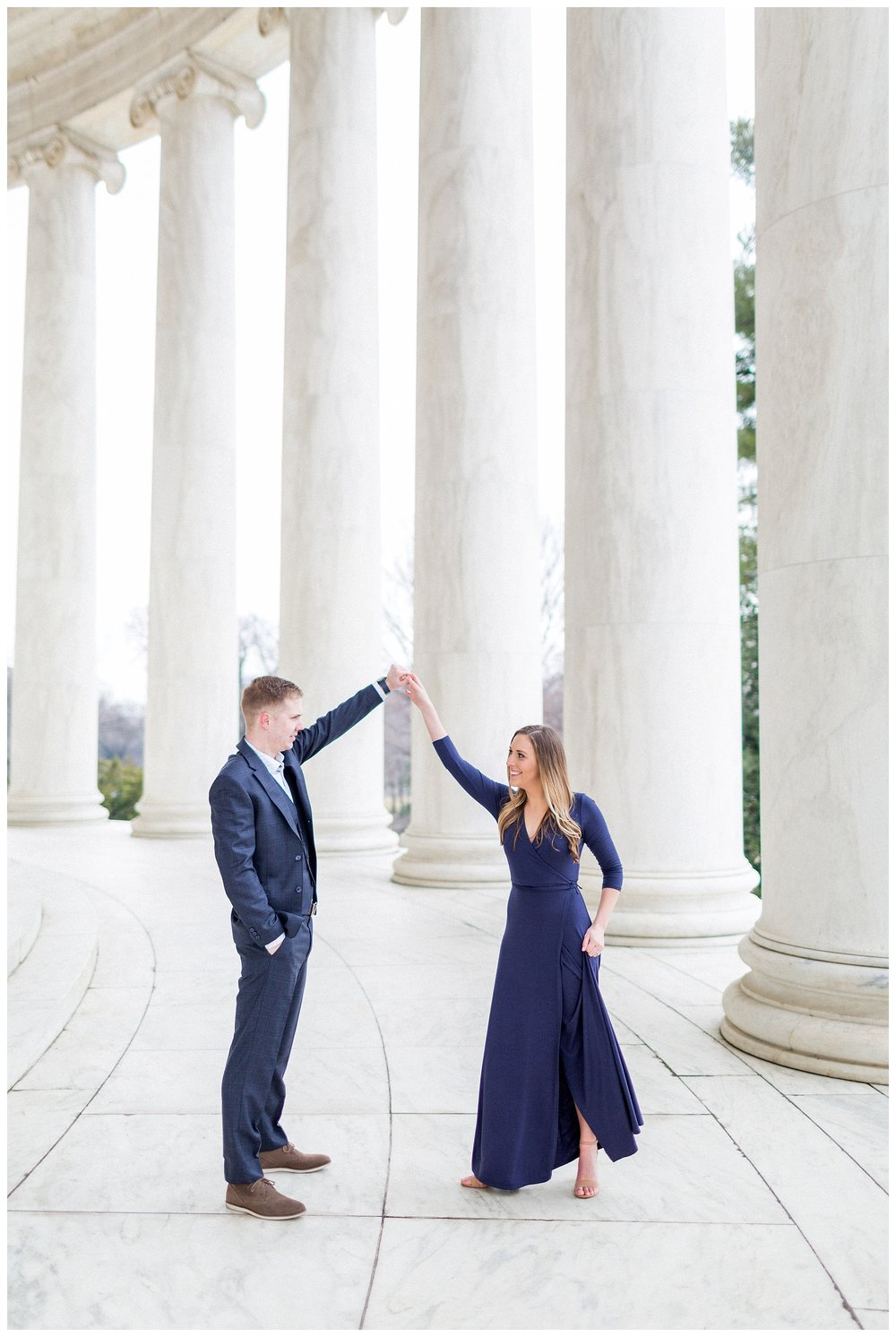 Washingon DC Engagement Photos | Jefferson Memorial Engagement | Kir Tuben_0036.jpg