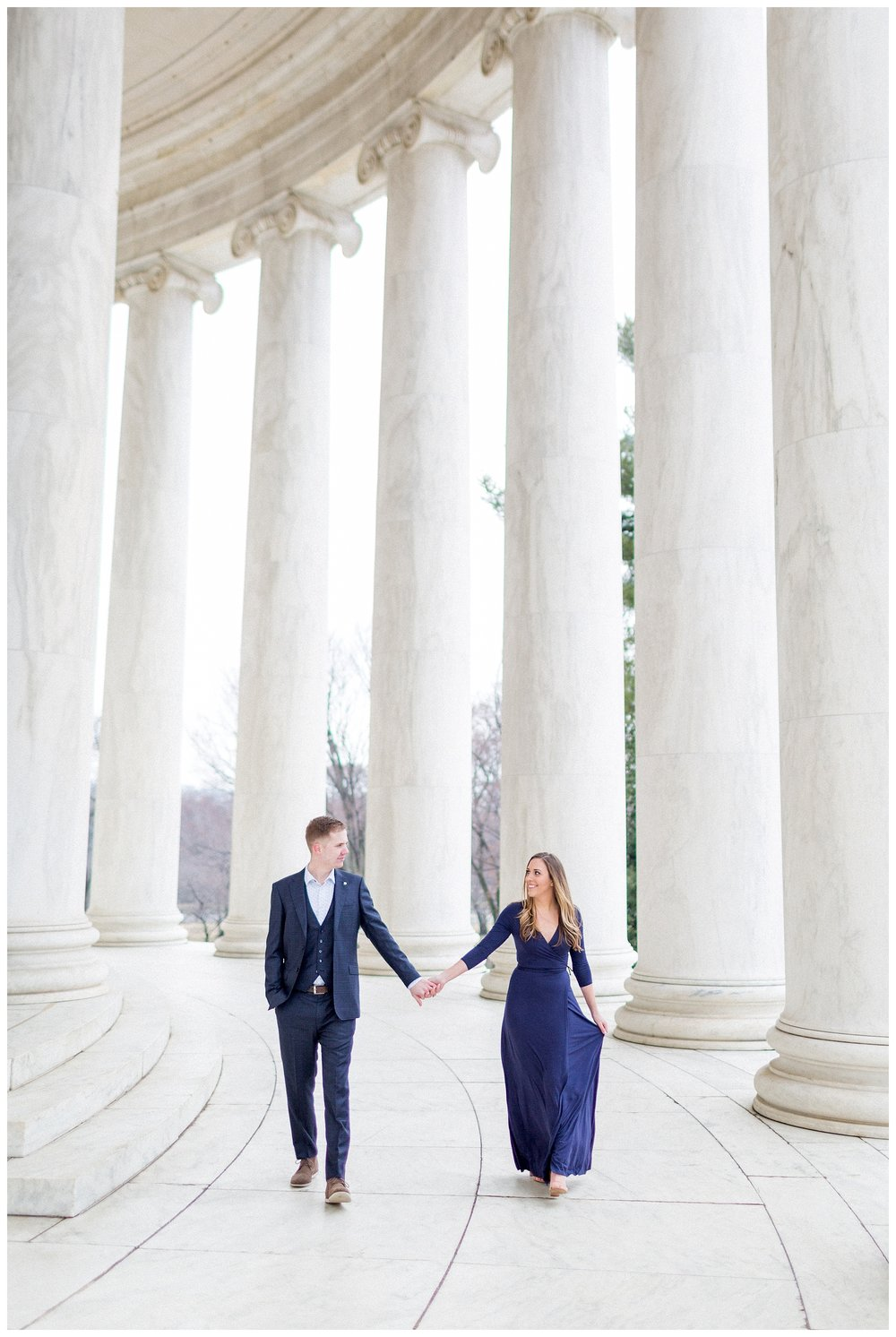 Washingon DC Engagement Photos | Jefferson Memorial Engagement | Kir Tuben_0038.jpg