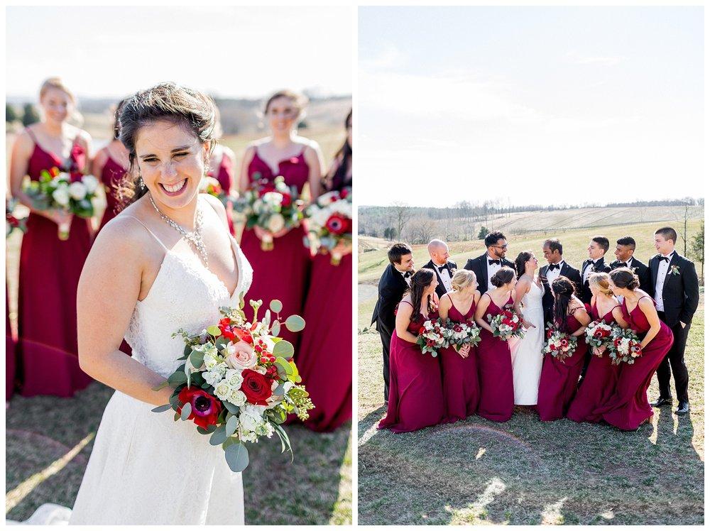 Stone Tower Winery Wedding | Virginia Winter Wedding | VA Wedding Photographer Kir Tuben_0066.jpg