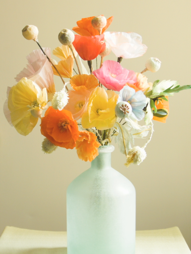Poppy Bouquet $190
